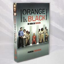 Orange Is The New Black Temporada 1 Dvd Reg. 1 Y 4