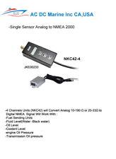 NMEA 2000  converter 4 channel Analog input sensor to NMEA 2000