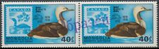 Specimen, Mongolia Sc1021 Wildlife, Bird, CAPEX 78, Red-throated Loon, Pair