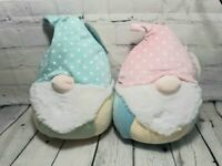 "Squishmallows Maddox & Poppy Gnome 8"" Lot Plush Gnomes NWT Kellytoy Squishmallow"