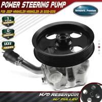 Power Steering Pump w/o Reservoir for Jeep Wrangler V6 3.6L 2012-2017 20-1039