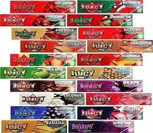 Flavoured Rolling Papers King Size Juciy Jays mouth watering Flavours