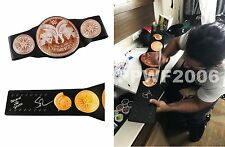 WWE SETH ROLLINS HAND SIGNED AUTOGRAPHED TAG TEAM ADULT BELT W/ EXACT PIC PROOF