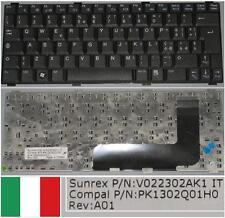 Qwerty Keyboard Italian DELL Vostro 1200 V022302AK1, PK1302Q01H0 0D5F8J Black
