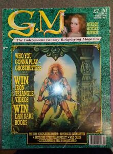G.M. Fantasy Fantasy Roleplaying Magazine Ghostbusters City Roleplaying System