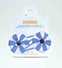 Gymboree Hair Clips Barrette Greek Isle Style Girls NEW te1