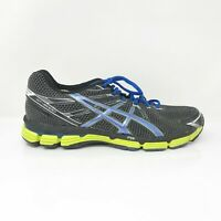 Asics Mens GT 2000 T2L0N Black Blue Running Shoes Lace Up Low Top Size 10 B
