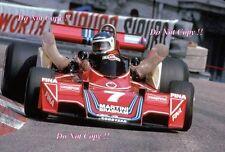 Carlos Reutemann Martini Brabham BT45 Monaco Grand Prix 1976 Photograph 9