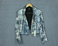 560€ RRP DIESEL G-ANTARES GIACCA Women's Jacket With Cropped Sequin [SZ S] VGC!