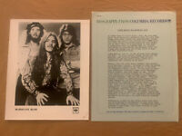 Frank Marino & Mahogany Rush 1978 Original 3pg Bio, Press Photo & Concert Ticket