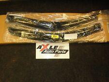OEM 2004-08 FORD F150 F SERIES FRONT DOOR WINDOW GLASS DEFLECTORS 4L3Z-18246-AA