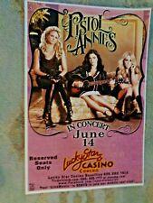 "Vintage Pistol Annies Miranda Lambert Oklahoma Concert Poster 18"" x 12"""