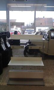 Vitrine BMW Glas Glasvitrine mit Ablagefächer mit Halter !!! top Zustand !!!