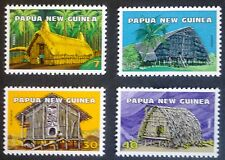 PAPUA-NEW GUINEA STAMPS MNH - Native dwellings, 1976, **
