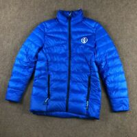 Polo Ralph Lauren Down Puffer Jacket Coat Blue Youth Boys XL Full Zip