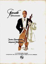Original vintage poster print FASOLT SKISPORT FASHION 1920 Engelhard