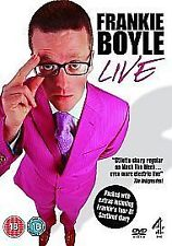 Frankie Boyle - Live (DVD, 2008) disc and inlay only