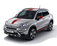 Fiat 500X Xtra Pack Decals Mirror Caps Side Mouldings Genuine Red 71807427 NP