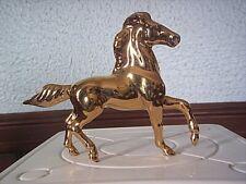 """Hagen Renaker Lmt. Edition Sr Feng Shui Golden Running Horse #3 3 1/4"""" Tall"""
