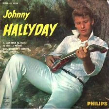 """Johnny Hallyday - Nous Quand On S'Embrasse - Vinyl 7"""" 45T (Single)"""