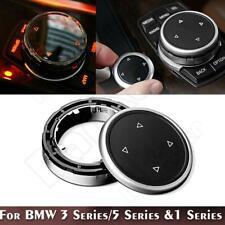 ABS Multi-Media Knob Controller Trim For BMW X1 X3 X4 X5 X6 IDRIVE Accessories