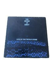 The Sisters Of Mercy - Live In The Troyan Horse Rare Live LP Vinyl