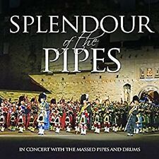 The Splendour of the Pipes Scottish Bagpipes Music CD