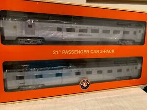 "🚂Lionel 682563 Southern 21"" Passenger 2-Car Set NIB"