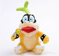 "6"" Super Mario Bro Iggy Koopa Plush Stuffed Doll Toy Soft Kids toy Birthday"