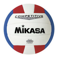 Mikasa Volleyball Synthetic Leather Size 5, Red/White/Blue