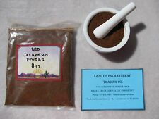 NEW MEXICO *HOT* RED JALAPENO CHILE POWDER  8 OUNCES   *Free USA Shipping*