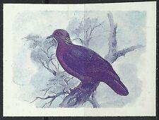 Sri Lanka Oiseaux Ceylon Wood Pigeon Birds Vögel Essai Imperf Proof Essay **1983