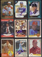 KENNY ROGERS Texas Rangers 1994 Score Gold Rush SIGNED / AUTOGRAPH Baseball Card