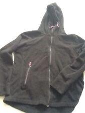 Sweat Polaire Noir Et Rose H&M XL
