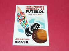9 AFFICHE BRESIL 1950 PANINI WORLD CUP STORY 1990 SONRIC'S