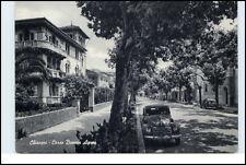 CHIAVARI Italien 1956 Corso Buenos Ayres Baum altes Auto Villen Häuser Italy