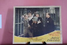 """ORIGINAL 1943 LOBBY CARD~JAMES CAGNEY IN """"JOHNNY COME LATLEY"""""""