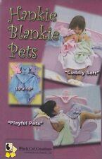 PATTERN - Hankie Blankie Pets - little blanket PATTERN - Black Cat Creations