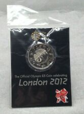 Lovely Royal Mint The Offical Olympic £5 Coin Celebrating London 2012 SU1152
