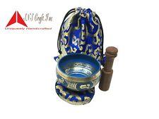 "3.5"" Tibetan Meditation Yoga Singing Bowl Set free  Mallet, Cushion &  Carry bag"
