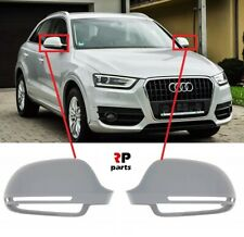 FOR AUDI Q3 11-18, AUDI A6 07-09 WING MIRROR COVER CAP PRIMED BLISS PAIR SET