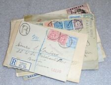 lot 20 old world wide stamp covers some war censored