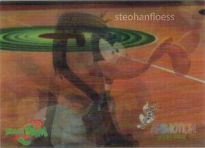 1996 Upper Deck Space Jam Animotion Michael Jordan Daffy Duck Salutes #AN4