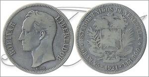 Venezuela - Coins Circulation- Year: 1921 - Number Y00024.2-21 - BC 5 Bolivares