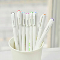 8PCS Cute Korean Stationery Watercolor Ballpoint Pen Gel Pen Color Kandelia P5M3