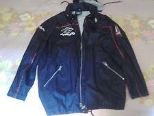 giacca anti-pioggia UMBRO PRO TRAINING RAIN JACKET NAVY BLUE England k way vtg