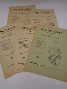 "5 sketches de Jean Kolb & Géo Sandry : ""Sidi couscous"""