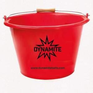 DYNAMITE BAITS 17ltr BAIT BUCKET + MAGGOT RIDDLE IDEAL FOR CARP / MATCH FISHING