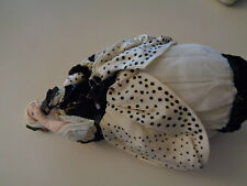 Vintage Softy Cloth Doll in Original Masquerade Outfit & Mask Marks1779 250 Fbw