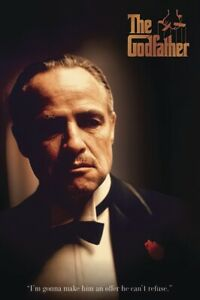 The Godfather - Movie Poster (Don Corleone: I'm Gonna Make Him An Offer....)
